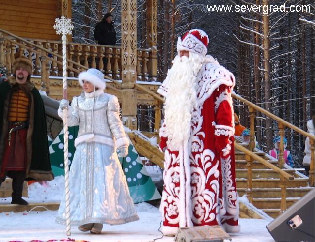 Новый год в россиикак встречают